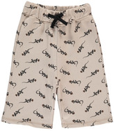 Emile et Ida Sale - Lizard Fleece Bermuda Shorts