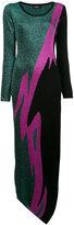 DSQUARED2 metallic knit dress - women - Polyester/Viscose/Wool - S