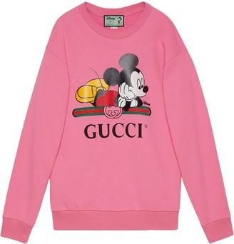 Gucci x Disney Mickey crew neck sweater