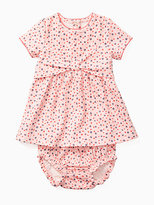 Kate Spade Layette kammy bow dress