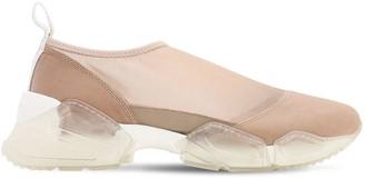 Chiara Biasi 30mm Bianca Mesh Sneakers