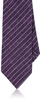 Barneys New York Men's Pinstriped Silk Necktie