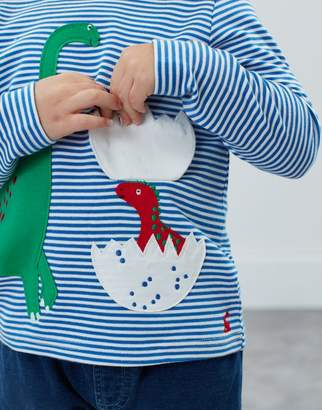 Joules Chomp Applique T-Shirt 0-6 Years