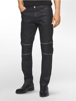 Calvin Klein One Slim Fit Coated Black Jeans