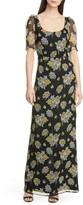 Brock Collection Floral Print Maxi Dress