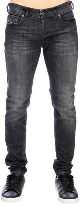 Diesel Sleenker Stretch Skinny Jeans In Denim With 5-pockets