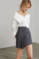 J.ING Oksana White Off Shoulder Blouse