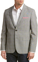 Brooks Brothers Red Fleece Traditional Relaxed Fit Wool Sport Coat