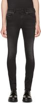 Diesel Black Stickker Jeans
