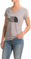 The North Face Half Dome Tri-Blend T-Shirt - V-Neck, Short Sleeve (For Women)