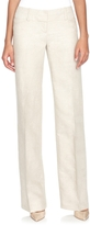 The Limited Cassidy Linen Blend Trousers