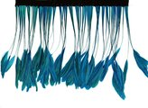 Zucker Feather Products Bleached Stripped Coque Feather, 6 to 8-Inch