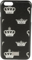 Dolce & Gabbana Printed Crown iPhone Case