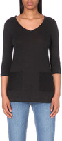 Claudie Pierlot Tunique linen t-shirt