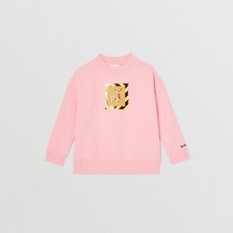 Burberry Childrens Deer Print Cotton Sweatshirt