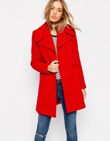 Asos Coat in Retro 60s Shape