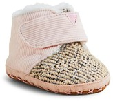 Toms Girls' Corduroy & Tweed Cuna Booties - Baby