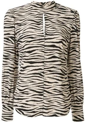 A.L.C. Marina long-sleeve blouse