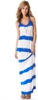 Young Fabulous & Broke Skinny Stripe Maxi Dress