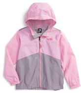 The North Face Toddler Girl's Flurry Hooded Windbreaker
