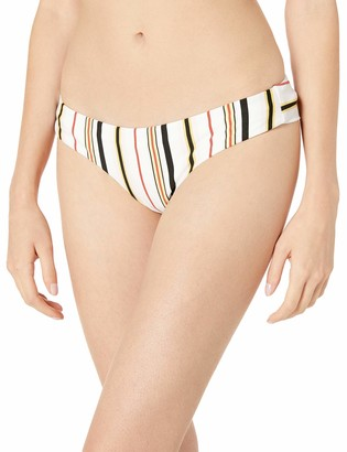 Volcom Junior's Women's That's Stripe Cheekini Coverage Bikini Bottom