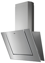 AEG DVB3850M Angled Chimney Cooker Hood, Stainless Steel