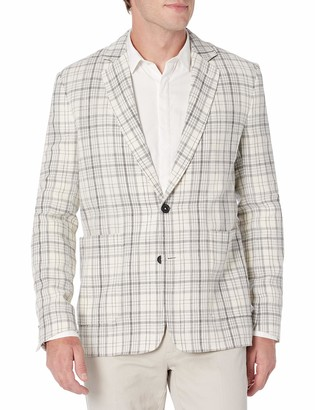 Billy Reid Men's Standard Fit Two Button Single Breasted Dylan Sportcoat