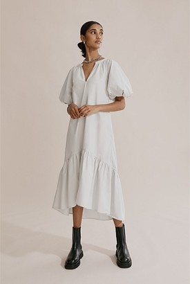 Country Road Poplin Midi Dress