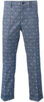Sacai Aloha printed trousers - men - Cotton - 2