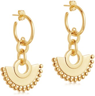Missoma Zenyu Chandelier Hoop Earrings