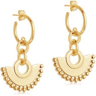 Missoma Zenyu Chandelier Hoop Earrings