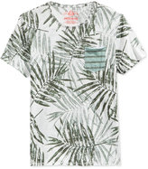 American Rag Men's Tropical Leaf Graphic-Print T-Shirt, Only At Macy's