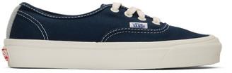 Vans Navy OG Authentic LX Sneakers