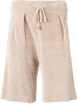 Laneus corduroy shorts