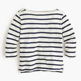 J.Crew Girls' striped T-shirt