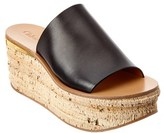 Chloé Camille Leather Wedge Mule.