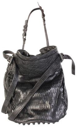 Alexander Wang Black Leather Shoulder Bag