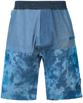 Longjourney elasticated waistband sweatshorts - men - Cotton/Nylon - L