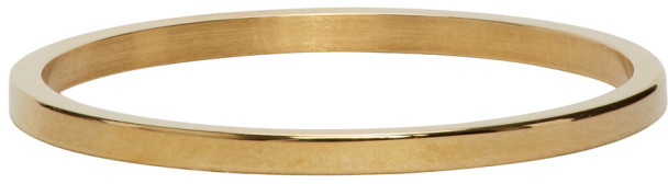 Thumbnail for your product : Le Gramme Gold 1 Gramme Wedding Ring