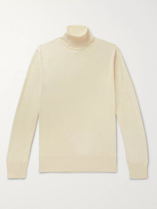 Connolly + Goodwood Merino Wool Rollneck Sweater