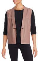 Eleventy Leather Vest