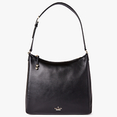 Kate Spade Lombard Street Pauley Leather Satchel, Black