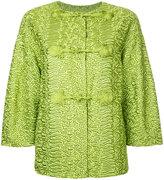 Ermanno Scervino oversized jacket - women - Polyamide/Polyester - 44