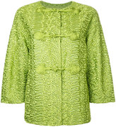 Ermanno Scervino oversized jacket - women - Polyester/Polyamide - 44