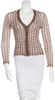 Missoni Patterned Cropped Cardigan