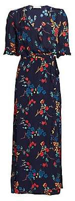 Sea Women's Mari Floral Wrap Maxi Dress - Size 0
