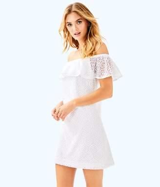 Lilly Pulitzer La Fortuna Off-The-Shoulder Dress