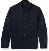 Burberry Slim-Fit Cashmere And Wool-Blend Utility Jacket