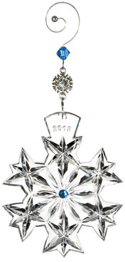 Waterford 2013 Snowflake Wishes Goodwill Christmas Ornament