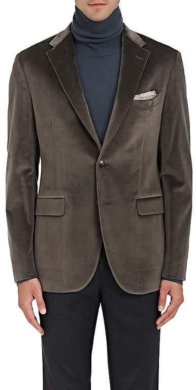 Boglioli Men's Velvet Two-Button Sportcoat
